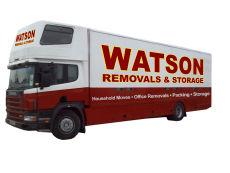 Removals Southampton truck right